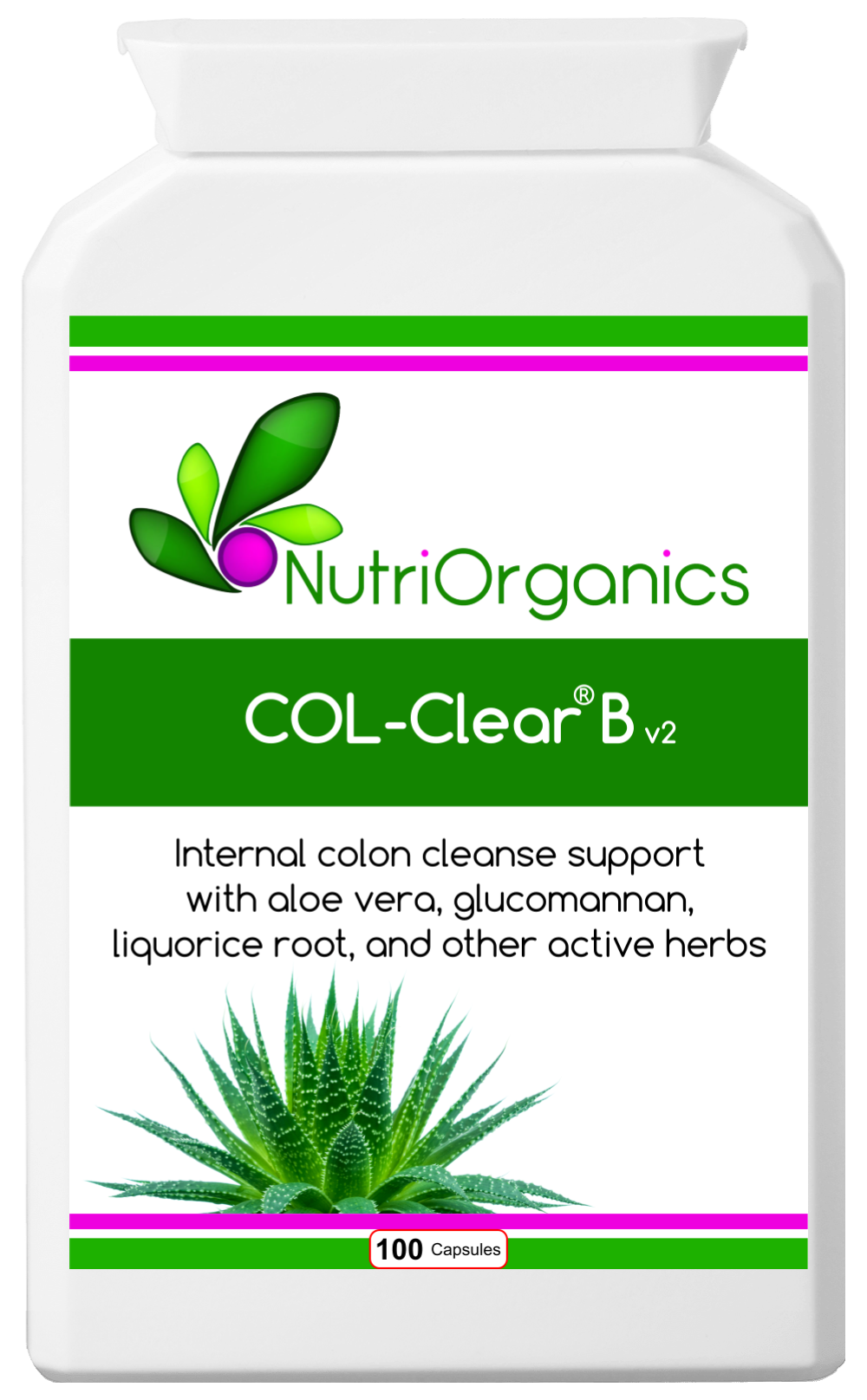Herbal Colon Cleanse - COL-Clear B v2